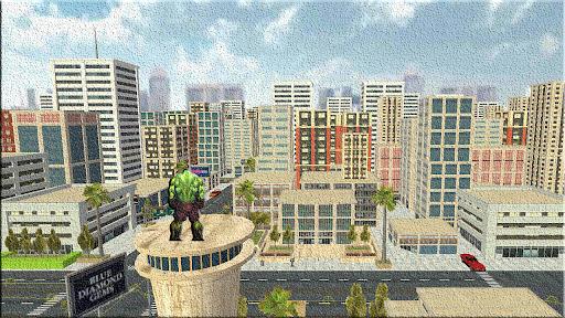 Super City Hero Wars-Super Crime City Battle apkpoly screenshots 3