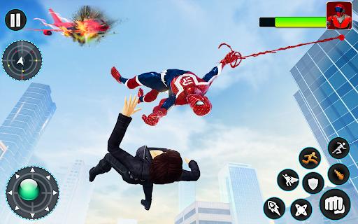 Flying Robot Hero - Crime City Rescue Robot Games 1.7.7 Screenshots 15