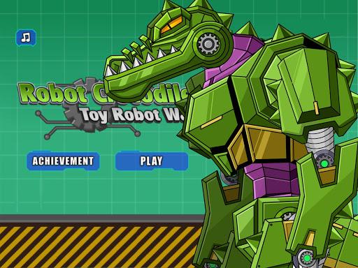 Robot Crocodile Toy Robot War  screenshots 12