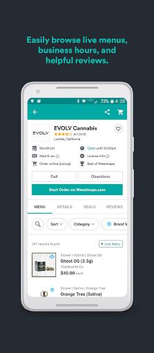 Weedmaps: Marijuana, Cannabis, CBD & Weed Delivery android2mod screenshots 3