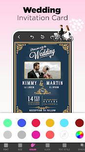 Invitation Maker Free - Birthday & Wedding Card 9.0 Screenshots 4