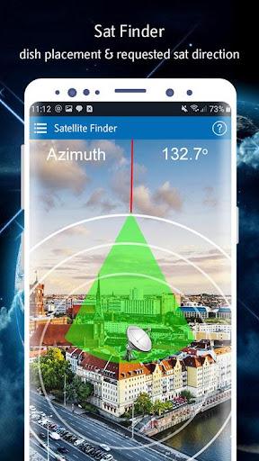 Satellite Finder (Area Calculator) Dish Pointer 1.0.6 Screenshots 1