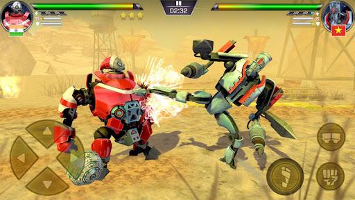 Clash Of Robots- Ultimate Fighting Battle Game 3D modiapk screenshots 1