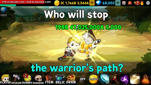 Warrior Clicker Apkfinish screenshots 6