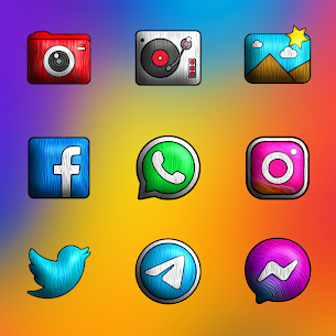 Painting 3D – Icon Pack APK [PAID] Download Latest Version 3