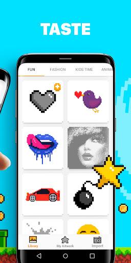 UNICORN u2013 Color by Number & Pixel Art Games screenshots 2