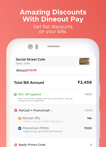 Dineout: Best Restaurant Offers, Deals & Events android2mod screenshots 6