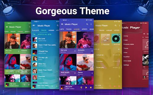 Music Player - Bass Booster & Free Music 2.6.0 Screenshots 2
