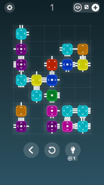 Combine it! - connected blocks of logic puzzle screenshot 4
