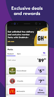 Grubhub: Local Food Delivery & Restaurant Takeout 2021.28 Screenshots 2