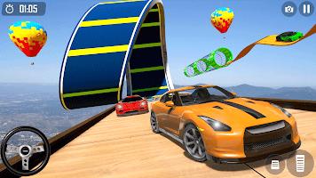 Mega Ramp Car Stunts 3D - Racing Car Games 2021