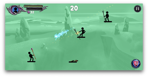 The Wizard: Stickman War 1.1.8 screenshots 2