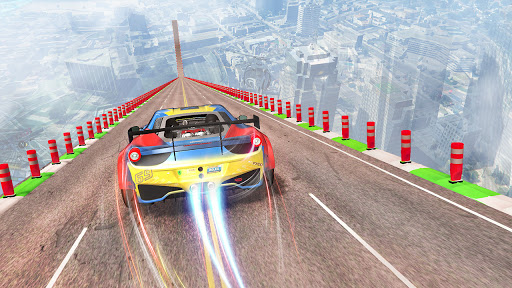 Ramp Stunt Car Racing Games 3d: Car Games Racing screenshots 4