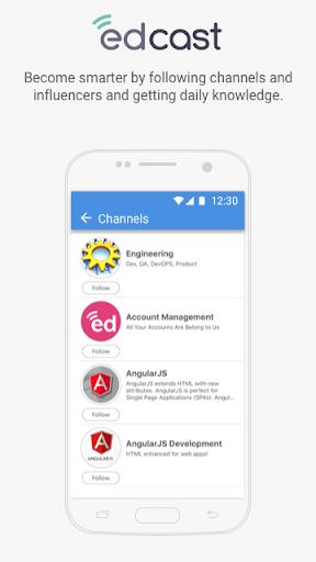 EdCast - Knowledge Sharing modavailable screenshots 5