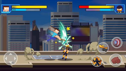 Stick Super: Hero - Strike Fight for heroes legend  screenshots 4