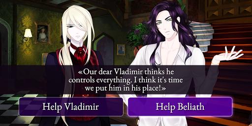 Moonlight Lovers : Beliath - dating sim / Vampire screenshots 4