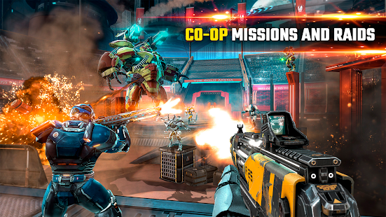 SHADOWGUN LEGENDS - FPS and PvP Multiplayer games Screenshot