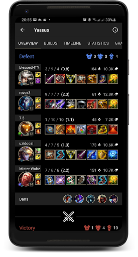 Probuilds for LoL & Wild Rift - LoLegacy android2mod screenshots 7