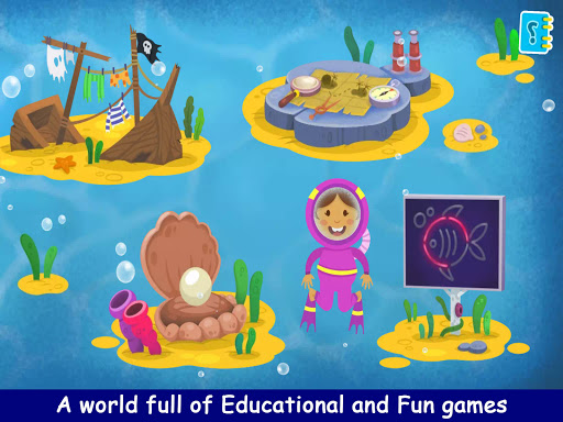 Kiddos under the Sea : Fun Early Learning Games 1.0.3 screenshots 10