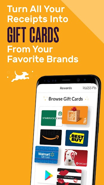 Captura de Pantalla 2 de Fetch Rewards: Grocery Savings & Gift Cards para android