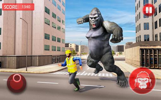 Angry Gorilla City Rampage apklade screenshots 2