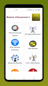 RF Signal Detector RF Signal Scanner 1.0