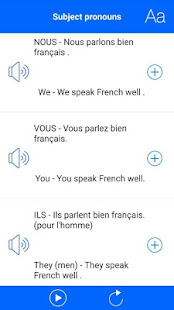 speak french learn french