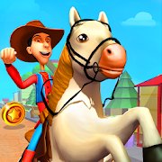Tiny Horse Run : Free Running Games