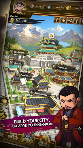 Match 3 Kingdoms: Epic Puzzle War Strategy Game apkdebit screenshots 2