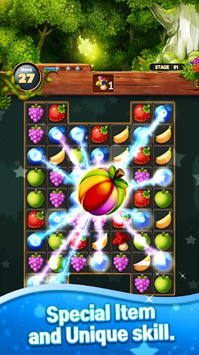 Sweet Fruits POP : Match 3 Puzzle screenshots 18