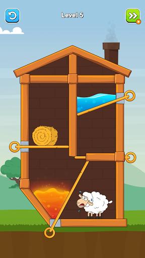 Hero Sheep- Pin Pull & Save Sheep 1.1 screenshots 3