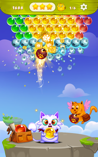 Bubble Shooter: Free Cat Pop Game 2019 1.22 screenshots 4