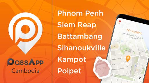 PassApp: Taxi in Cambodia  screenshots 1