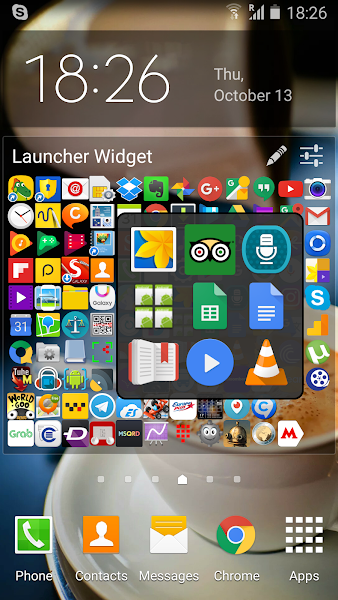 Launcher Widget