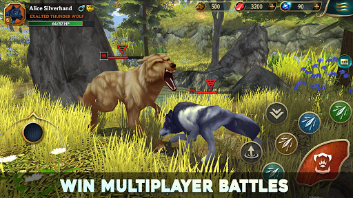 Wolf Tales - Online Wild Animal Sim 200198 screenshots 10