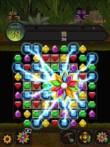 Secret Jungle Pop : Match 3 Jewels Puzzle Apkfinish screenshots 17