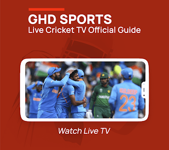 GHD SPORTS – Live Cricket TV Official Guide Apk Download 2021 2
