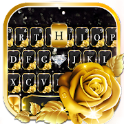 Gold Rose Lux Keyboard Theme