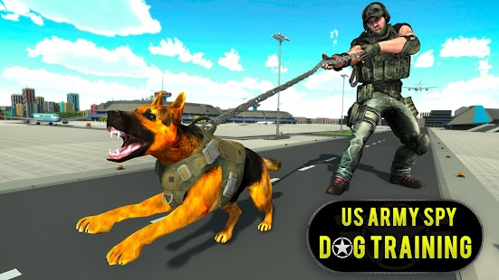 US Army Spy Dog Training Simulator Games Screenshot
