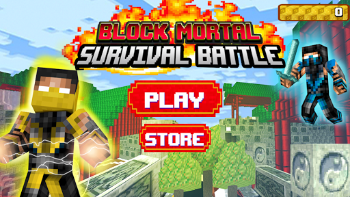 Block Mortal Survival Battle  screenshots 1