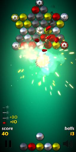 Magnet Balls Free: Match-Three Physics Puzzle  screenshots 1
