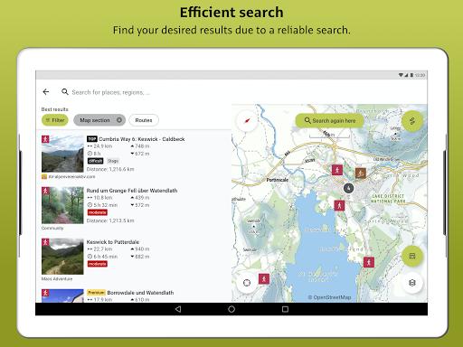 Outdooractive: Hiking & Biking Trails, GPS & Maps 3.3.28 Screenshots 16