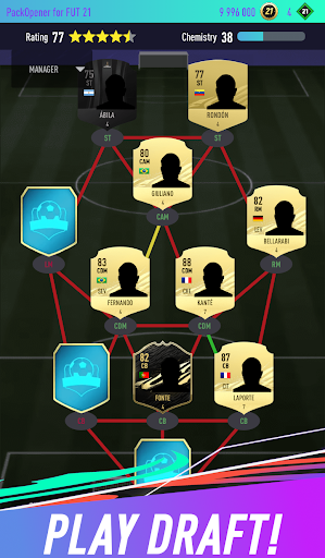 Pack Opener for FUT 21 1.46 screenshots 3