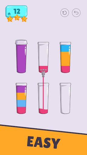 Cups - Water Sort Puzzle  screenshots 3