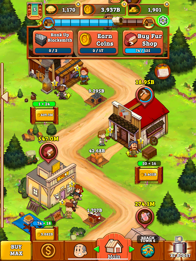Idle Frontier: Tap Town Tycoon 1.066 screenshots 19