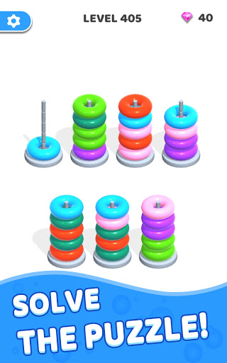 Color Hoop Stack - Sort Puzzle 1.0.3 screenshots 12