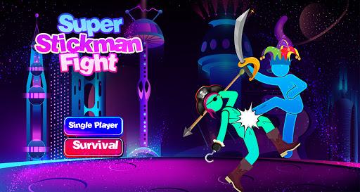 Hero Stick Man Fight Super Battle apklade screenshots 1