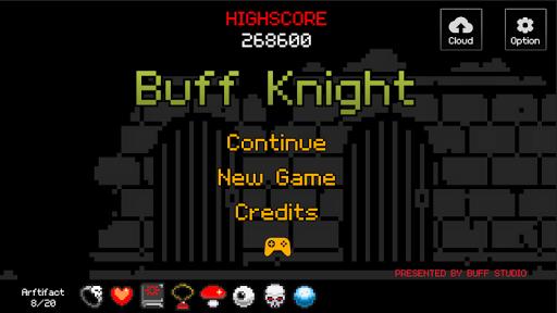 Buff Knight - Offline Idle RPG Runner  screenshots 1