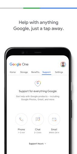 Google One screenshots 4