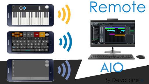 Foto do Remote AIO (Wifi / Usb)